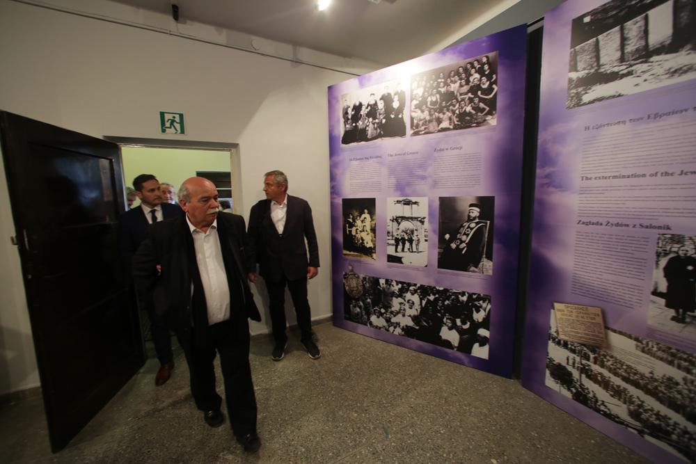 Ο πρόεδρος της Βουλής στο Μουσείο του Αουσβιτς