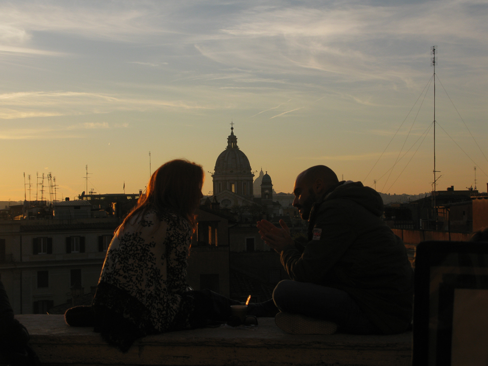 rome-sun-set